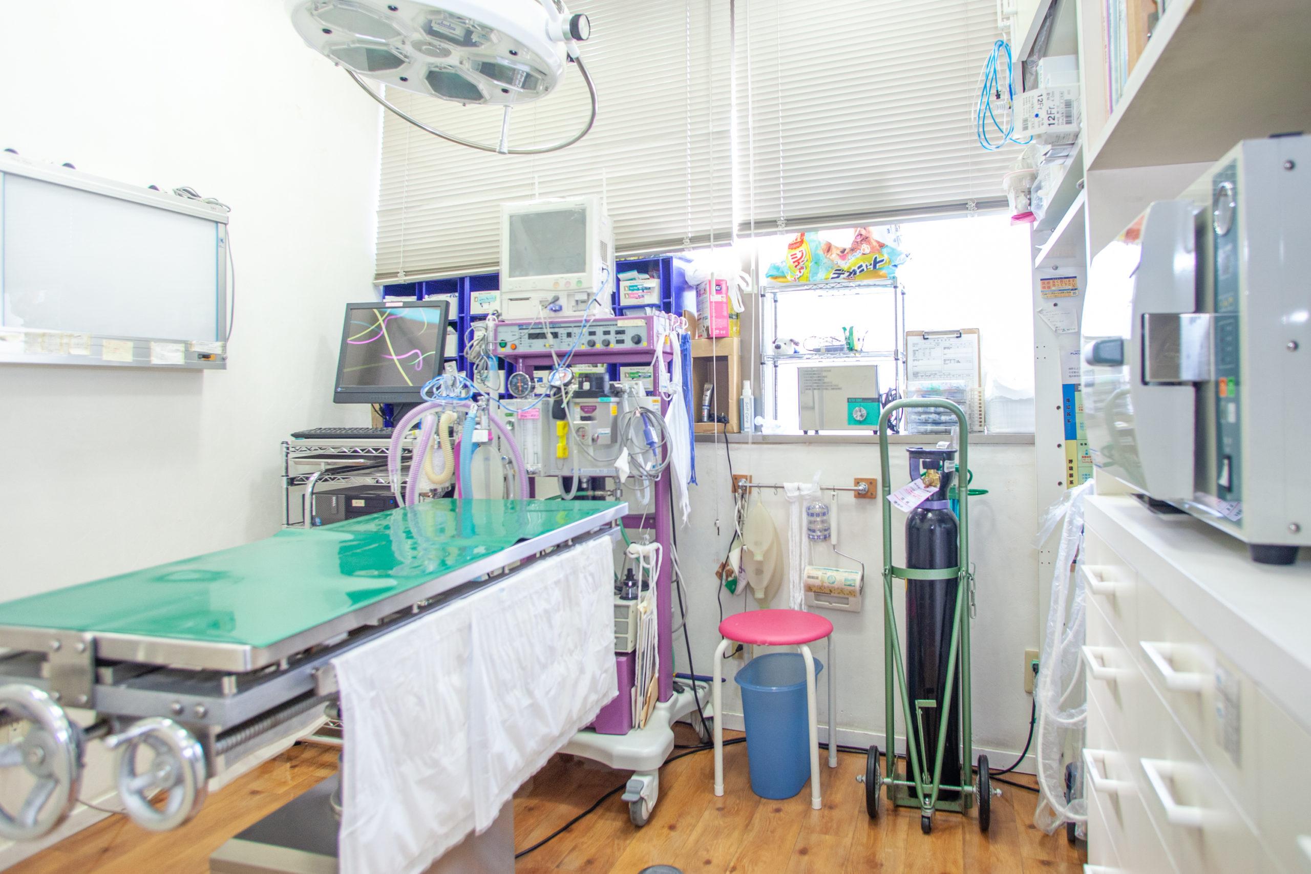 手術室 ※人工呼吸器あり